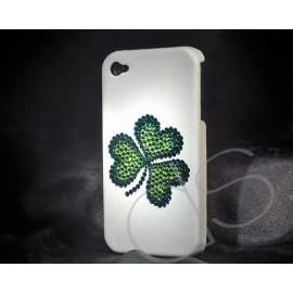 Shamrock Bling Swarovski Crystal Phone Cases