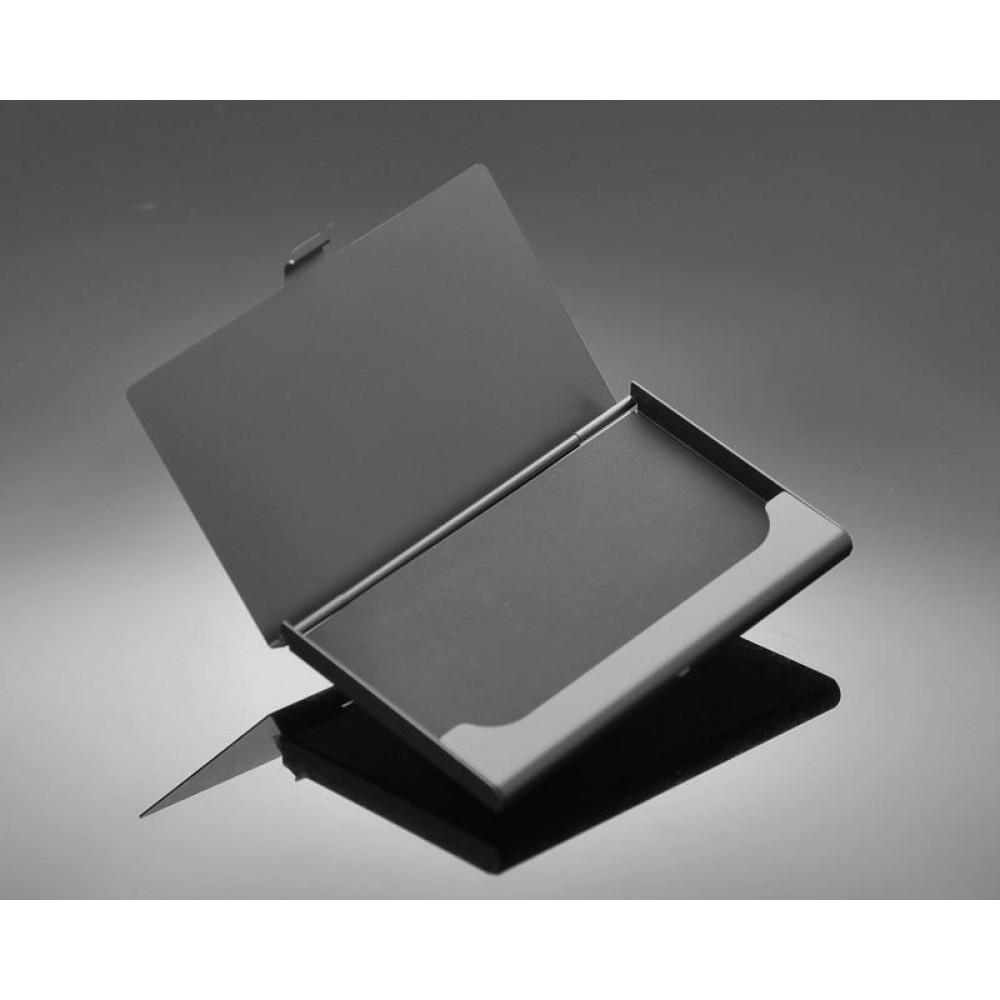 Lines Bling Swarovski Crystal Card Case